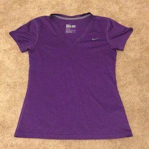 Nike Dri-fit shirt purple